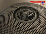 Street Glide Stamped Speaker Grill w/Tweeter Provision. Part SGTWMPK