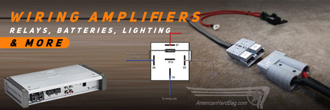 Wiring Amplifiers, Relays, Batteries, Lighting, & More!