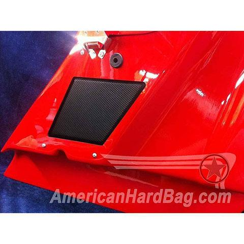 "Image of Harley Davidson Specific Aggressor Pro 80 Single 8"" Left & Right Woofer Mounting Kit"