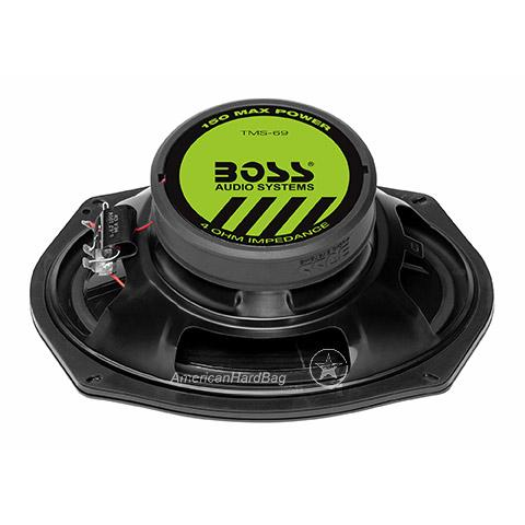 Boss Audio BHD14 Saddlebag Speaker & Grille Kit 2014+ Harley
