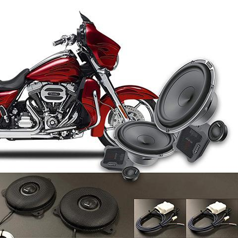 Hertz MPK165.3 Speaker Upgrade Kit for Harley Street Glide Part# 14MPKSG