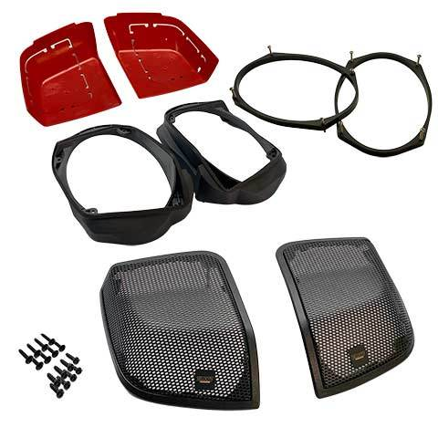 Hertz SV165/ST25 Kit for Factory Harley Speaker Lids 14-57TOSV165X