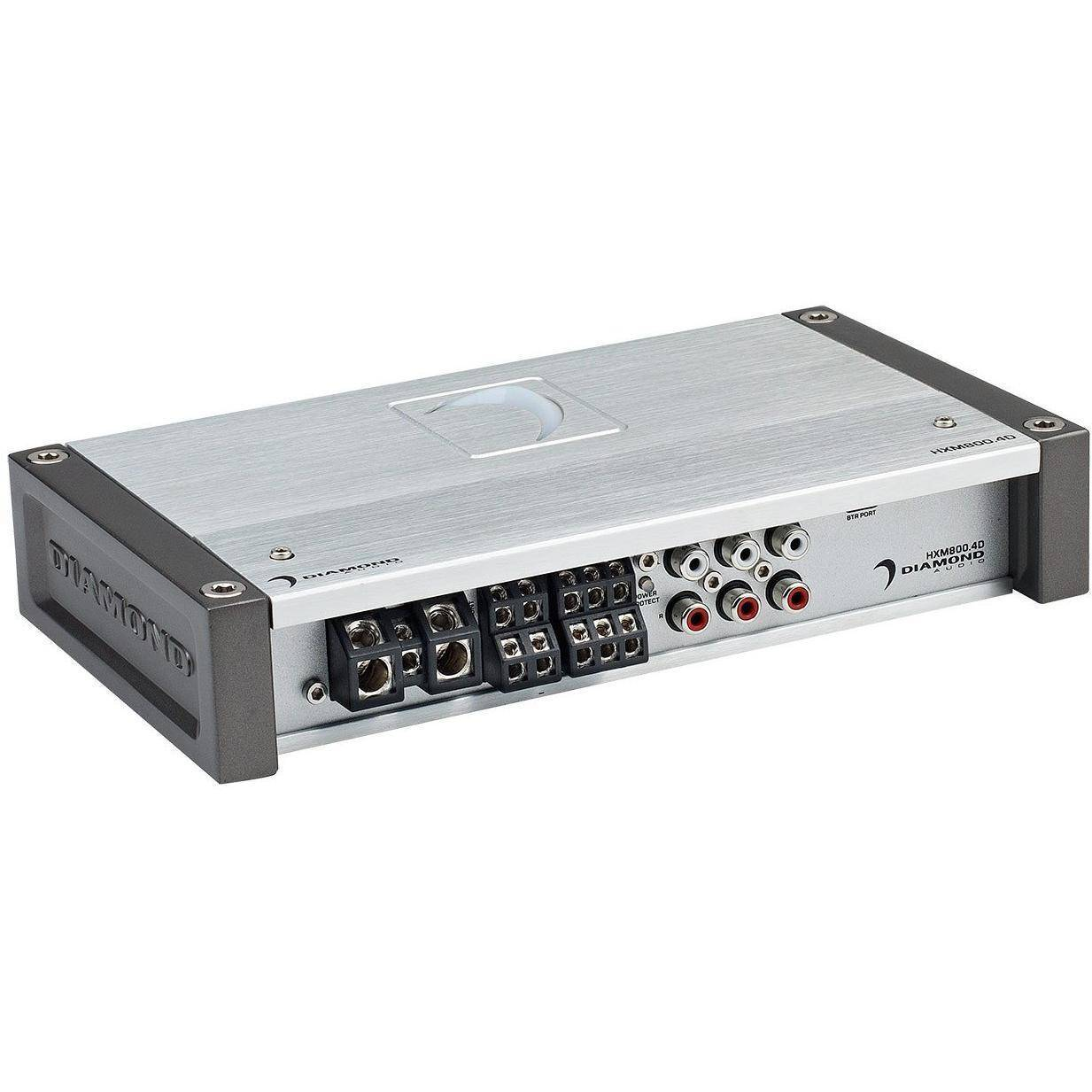 Diamond Audio HXM800 4D 800W RMS 4-Channel Amplifier for Harley Bagger  Systems