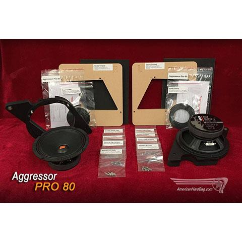 Image of Aggressor-Pro-80-Harley-speaker-kit