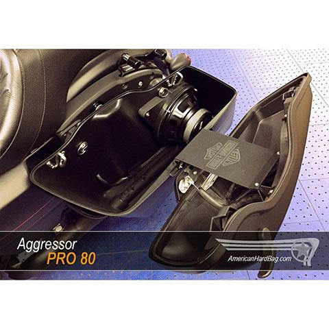 Image of Aggressor-Pro-80-hard-bag-speaker-adapter