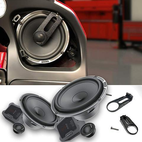 Hertz MPK165.3 Speaker Upgrade Kit for Harley Road Glide Part# 14MPKRG
