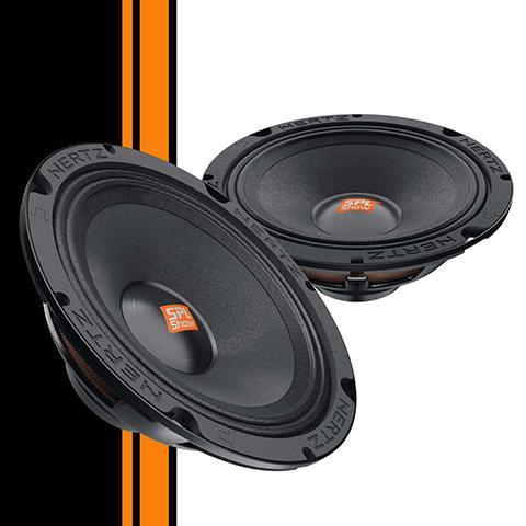 "Harley High Output Speaker Upgrade Hertz SV165 Neo 6.5"" Mid bass (Pair)"