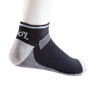 10049-Mens-Sport-Socks-Black-Charcoal-and-Grey-Melange-side