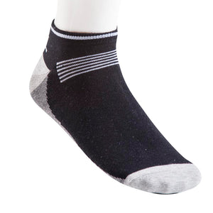 10049-Mens-Sport-Socks-Black-Charcoal-and-Grey-Melange