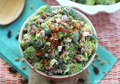Labor Day Workout and Broccoli Salad