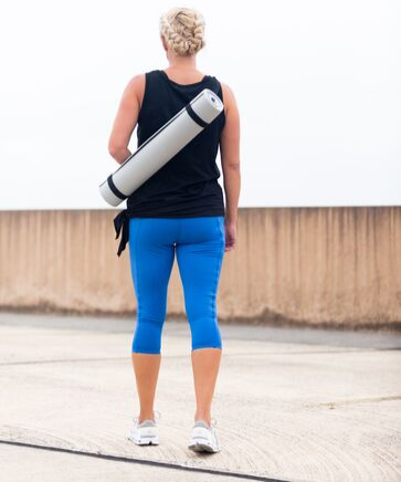 Yoga Mat and Carrying Pouch