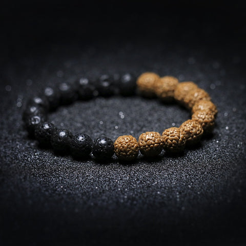 Natural Lava Rock Bracelet