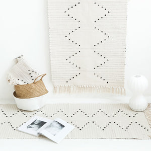 Modern Style Cotton Thread Rug