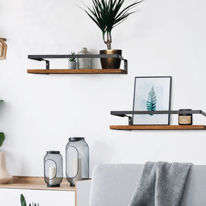 Nordic Style Floating Shelf