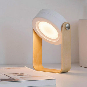 Creative Wooden Telescopic Lamp