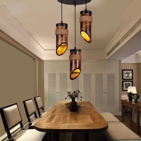 Bamboo Pendant Lights