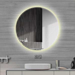 LED Bevelled Edge Wall Mirror
