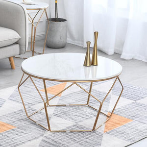 Minimalist Marble Coffee Table