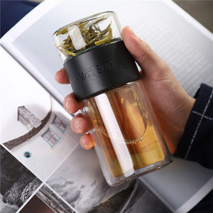 Modern Style Glass Tea Infuser