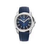 Patek Philippe Aquanaut White Gold Blue Dial 5168G-001