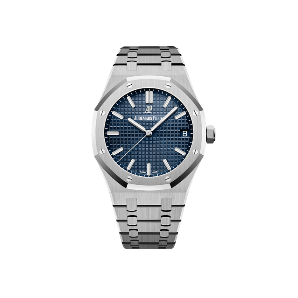 Audemars Piguet Royal Oak 41MM Stainless Steel - Blue Dial 15500ST.OO.1220ST.01