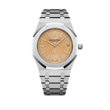 Audemars Piguet Royal Oak 'Jumbo' Extra-Thin - Salmon Dial- 15202BC.OO.1240BC.01