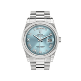Rolex Day-Date President Blue Dial 118206