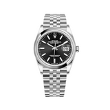 Rolex Datejust 36mm Steel Black Dial 126200