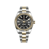 Rolex Sky-Dweller 42mm Steel & Yellow Gold Black Dial 326933-0002