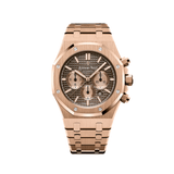 Audemars Piguet Royal Oak Chronograph Rose Gold Chocolate Dial 26331OR.OO.1220OR.02