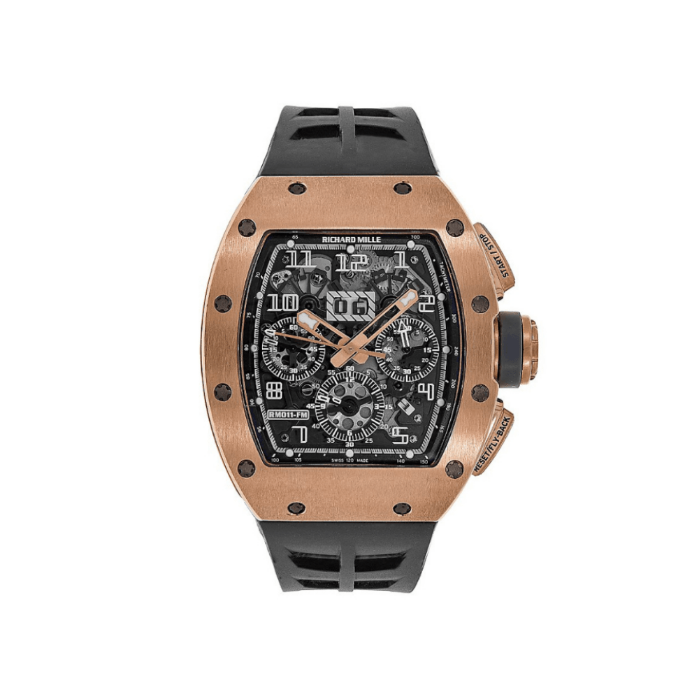 Richard Mille RM011 FELIPE MASSA Rose Gold Boutique Edition RM11