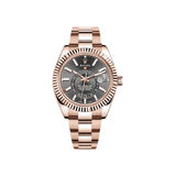 Rolex Sky-Dweller Rose Gold - Black Dial 326934