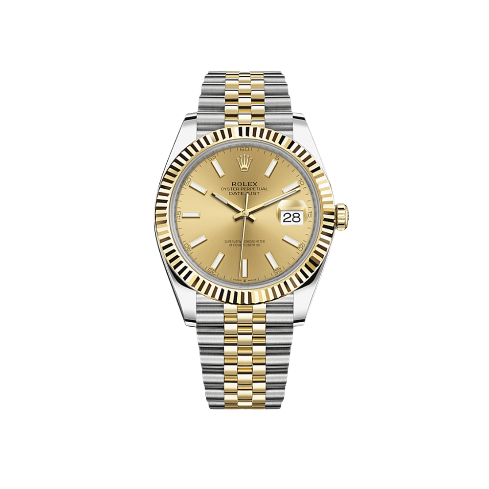 Rolex Datejust Champagne Dial 126333