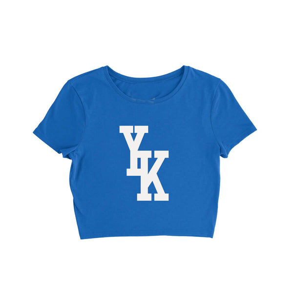 YK Osiris Dodger Kit Crop Tee - Blue