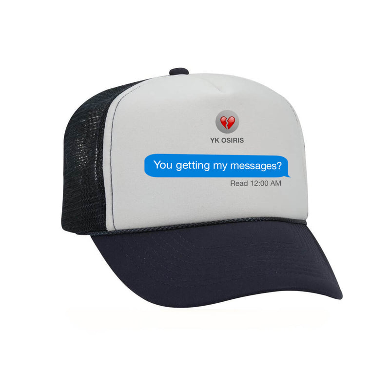 Leave Me On Read Hat - Black