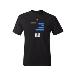 Leave Me On Read Tee - Black