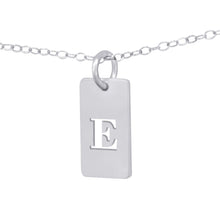 Load image into Gallery viewer, Personalized Cut Out Initial Pendant Tab