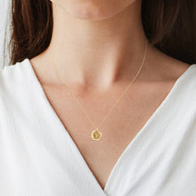 Load image into Gallery viewer, Wax initial Pendant