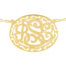 Load image into Gallery viewer, Filigree Framed Monogram