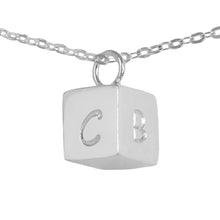 Load image into Gallery viewer, Personalized Cube Pendant