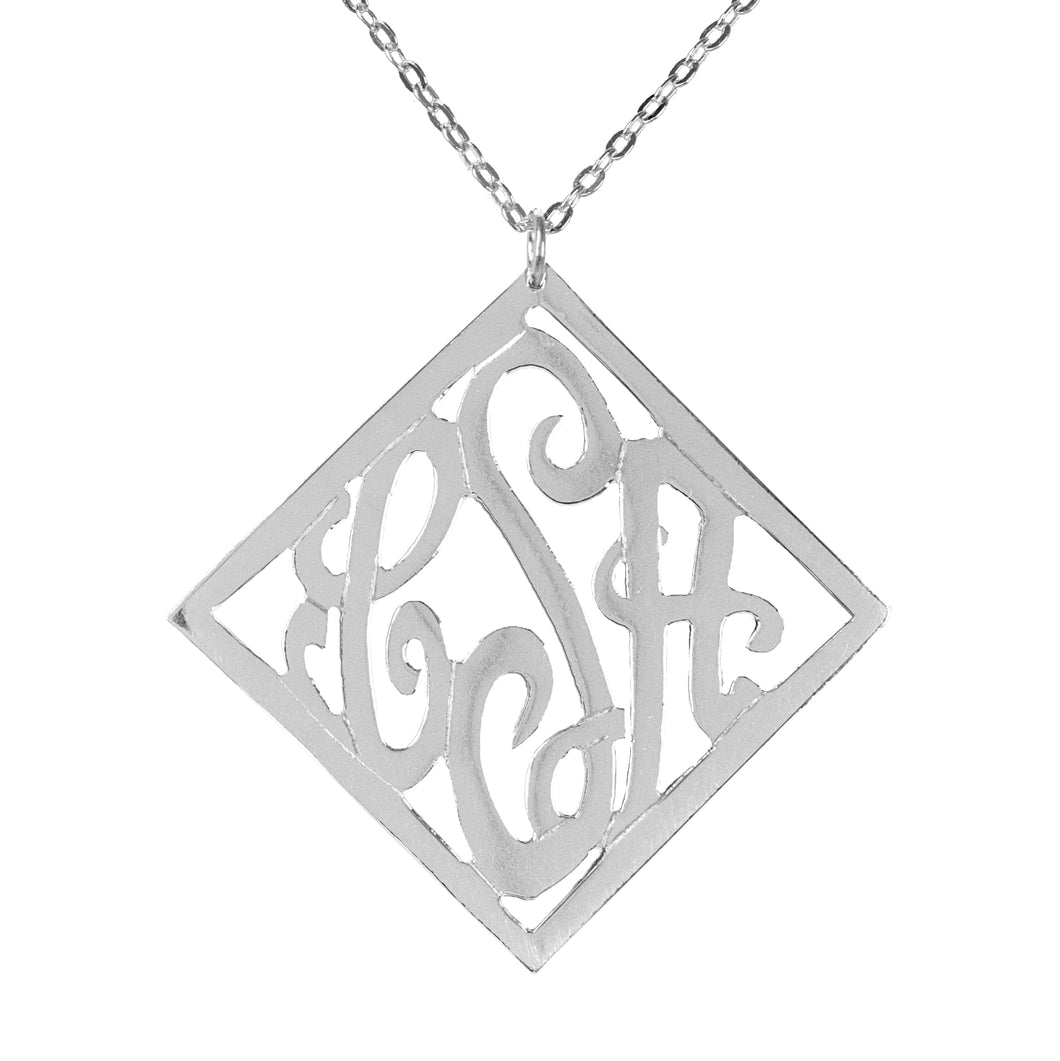 Stylish Monogram Necklace