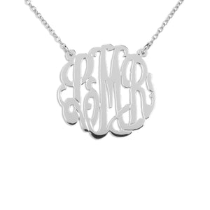 Handcrafted Monogram Necklace