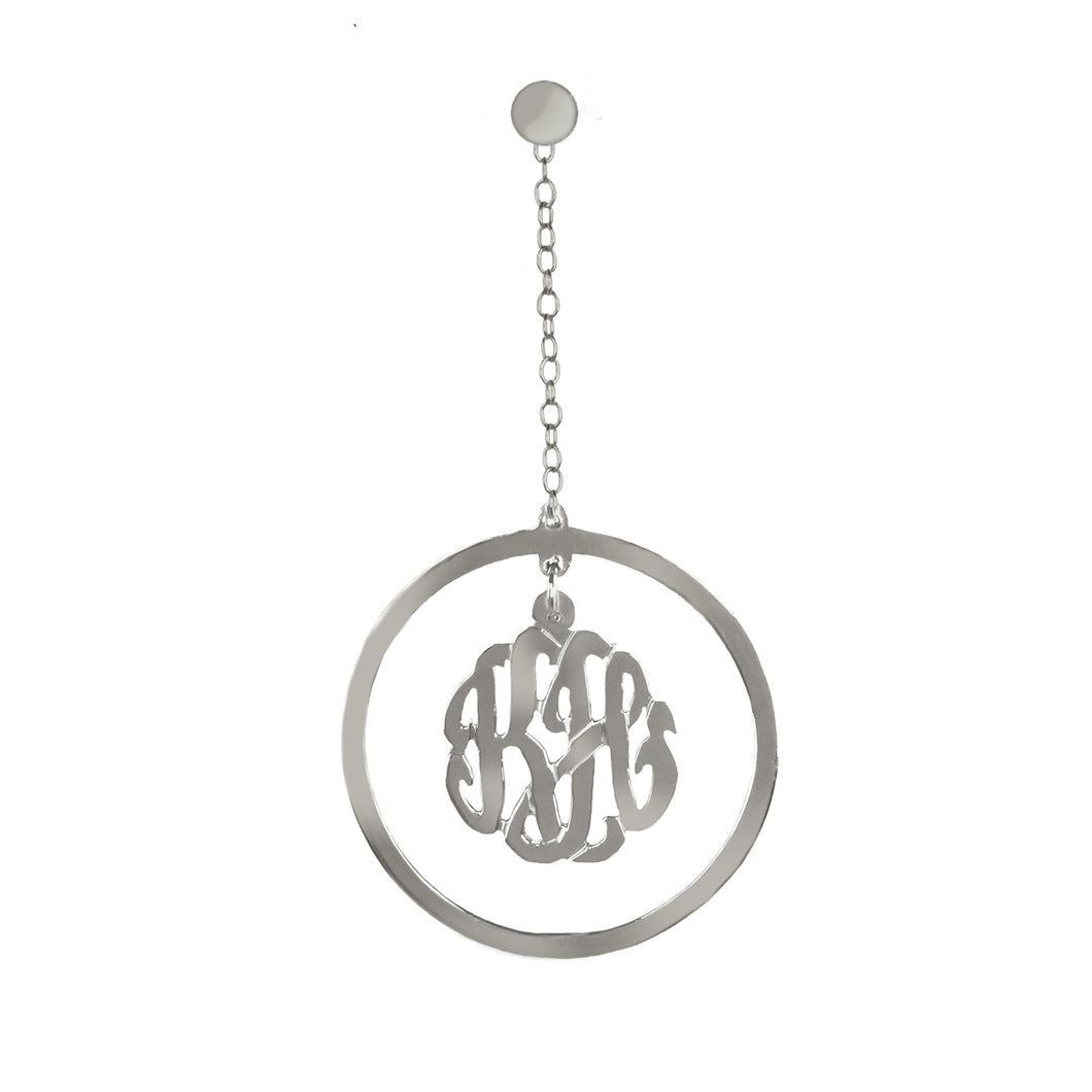 monogram-earrings-silver