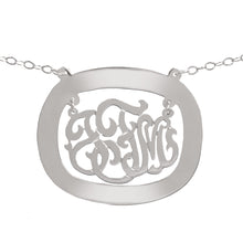 Load image into Gallery viewer, Chandelier Oval Monogram