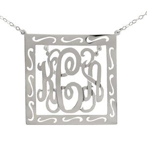 Chandelier Square Monogram