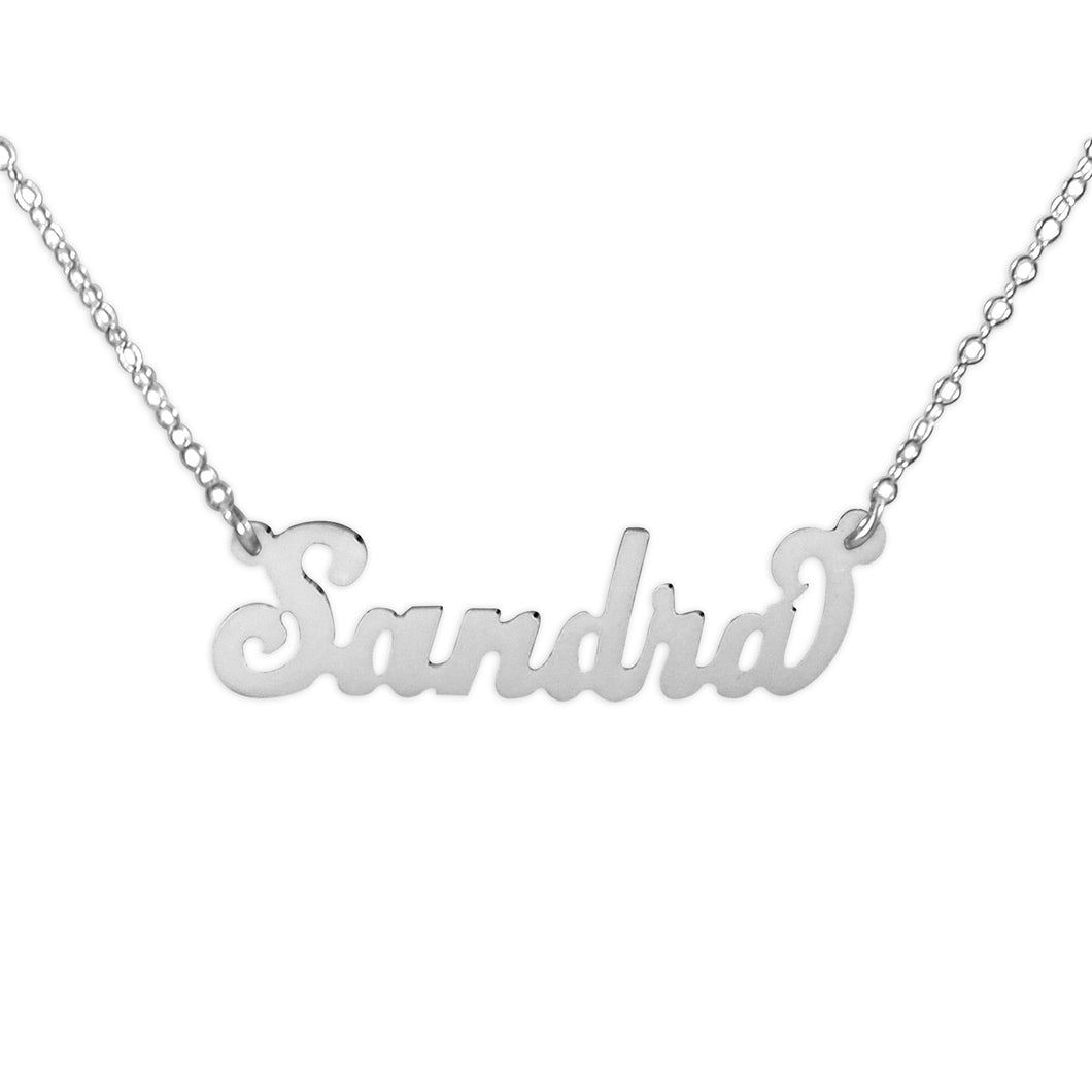 Carey Style Name Necklace