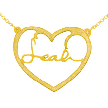 Load image into Gallery viewer, Frame Heart Signature Necklace