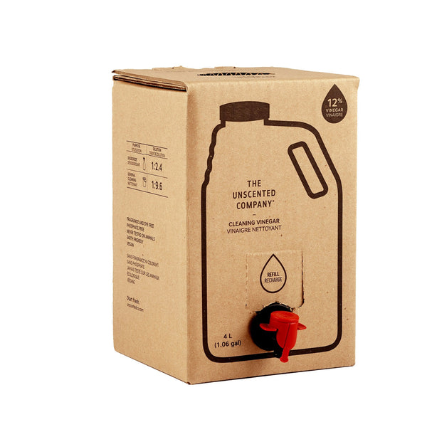 Cleaning Vinegar (12%) - 4 L Refill box