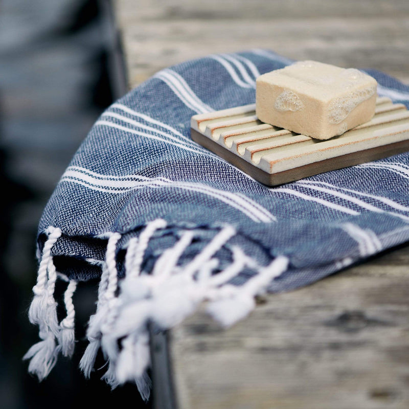 Balmy Towels - Luna Mini, Navy