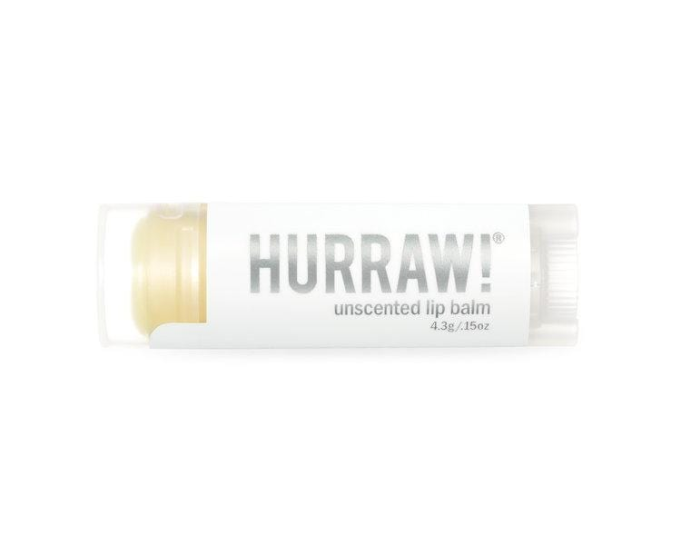 Hurraw! Unscented Lip Balm
